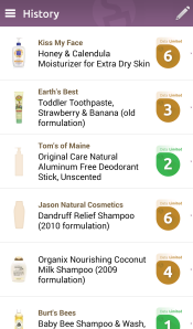 "Surprising to find that some ""natural"" brands are really not as natural as they claim, (okay, maybe not that surprising). Still, cool to discover which brands hold true, (way to go Tom's). Earth Mama, which is not pictured here, also scored 0's across the board."