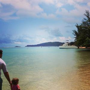 Hawaii ended up being a pretty ideal place to take a toddler. Understandably, beach is her new favorite word.